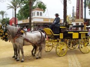 Andalusien Kutsche