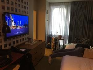 Nadine Günter ein Hotelzimmer in New York