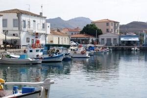 Hafen von Myrina