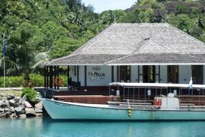 Labrit Resort Seychellen Bootsanleger
