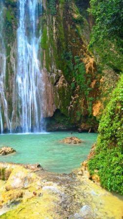 Wasserfall el Limon Dominikanische Republik